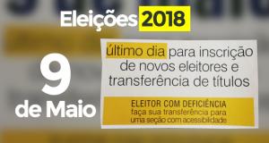 Eleições 2018: termina em 9 de maio o prazo para tirar e transferir título de eleitor