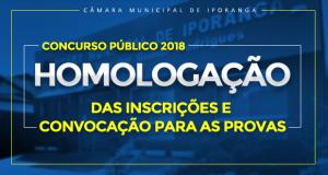 HOMOLOGAÇÃO – Concurso Público 2018