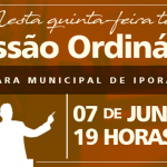 8.ª Sessão Ordinária de 2018