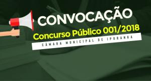 CONVOCAÇÃO – Concurso Público