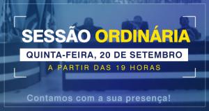 13.ª Sessão Ordinária de 2018
