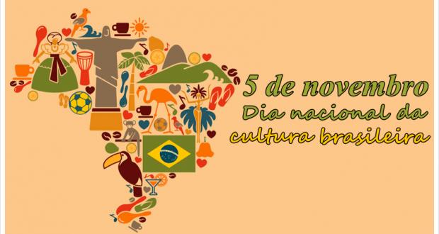 05 de novembro – Dia Nacional da Cultura