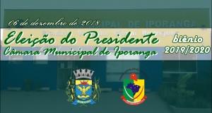 Eleição do Presidente da Câmara – biênio 2019/2020