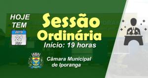 1.ª Sessão Ordinária de 2019