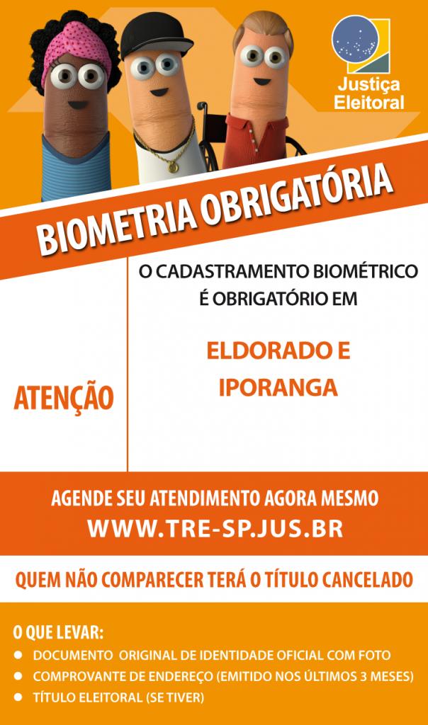 biometria obrigatória
