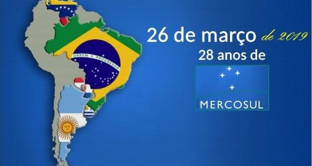 26 de março de 2019 – 28 anos de Mercosul