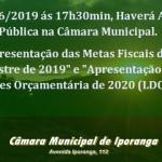 Audiência Pública (LDO 2019)