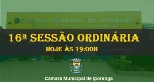 16ª SESSÃO ORDINÁRIA DE 2019